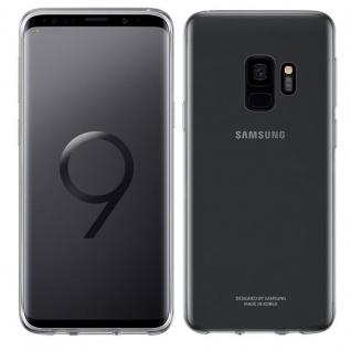 Samsung Clear Cover Star Transparent EF-QG960TTE für Galaxy S9 G960F Tasche Case