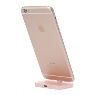 Dockingstation Ständer für Apple iPhone 7 6S 6 und Plus SE Tischladestation Gold