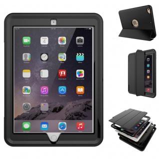 Hybrid Outdoor Schutzhülle Cover Schwarz für Apple iPad Pro 9.7 Tasche Case Neu