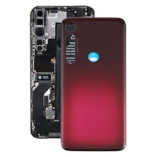 Akkudeckel Akku Deckel Batterie Cover für Motorola Moto G8 Plus Rot