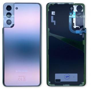 Samsung Akku Deckel Batterie Cover Galaxy S21 Plus GH82-24505C Silver / Silber