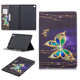 Für Samsung Galaxy Tab S7 Motiv 62 Schutz Tablet Tasche Kunst Leder Hülle Etuis