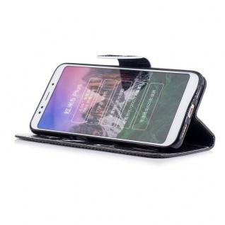 Für Huawei P20 Lite Tasche Book Motiv 40 Kunstleder Schutz Hülle Case Cover Etui - Vorschau 3