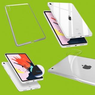 Für Apple iPad Pro 11.0 Zoll 2018 Transparent Tasche Hülle Case TPU Silikon dünn