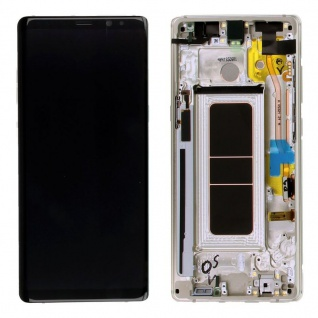 Display Full LCD Komplettset GH97-21065D Gold für Samsung Galaxy Note 8 N950F