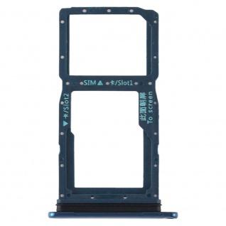 Sim Karten Halter für Huawei P Smart Z Grün Card Tray Schlitten Ersatz Reparatur