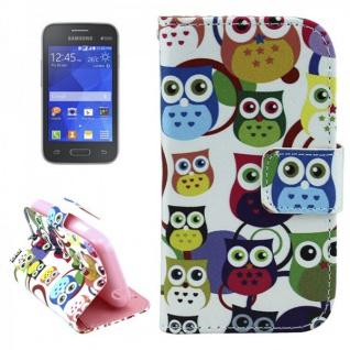 Schutzhülle Muster 44 für Samsung Galaxy Young 2 G130 Tasche Cover Case Hülle