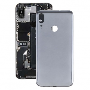 Akkudeckel Akku Deckel Batterie Cover für Motorola Moto E6 Plus Schwarz