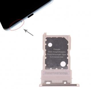 Für Google Pixel 3 XL Ersatzteil Simkartenhalter Card Tray Halter Sim Gold Neu
