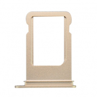 Nano Sim Karten Halter Adapter Sim Card Tray für Apple iPhone 7 & 7 Plus Gold