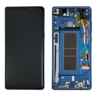 Display Full LCD Komplettset GH97-21065B Blau für Samsung Galaxy Note 8 N950F