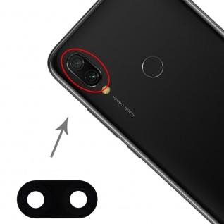 Rückseite Linse Schutz für Xiaomi Redmi 7 Back Cam Kamera Ersatz Schutz Schwarz