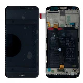Huawei Display LCD Rahmen für Mate 10 Lite Service Pack 02351QCY Schwarz Battery