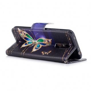 Für Huawei Y6 2018 Kunstleder Tasche Wallet Motiv 32 Schutz Hülle Case Cover - Vorschau 3
