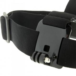 Kopfband für GOPRO HD HERO 3+ 3 2 1 Kopf Halterung Stirn Halter Zubehör Neu Top - Vorschau 3