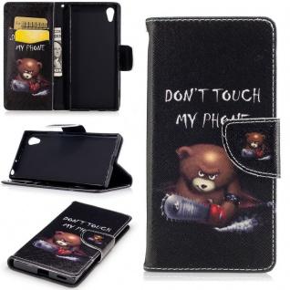 Tasche Wallet Premium Muster 21 für Sony Xperia XA1 Schutz Hülle Case Cover Neu