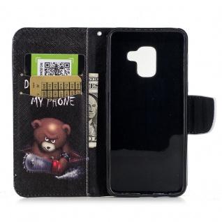 Tasche Wallet Premium Motiv 25 für Samsung Galaxy A8 2018 A530F Hülle Case Etui - Vorschau 5