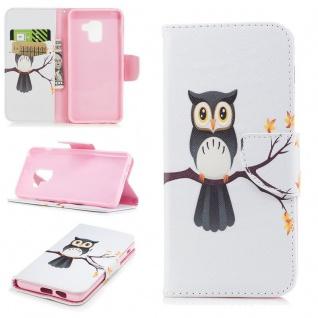 Tasche Wallet Premium Motiv 24 für Samsung Galaxy A8 2018 A530F Hülle Case Etui