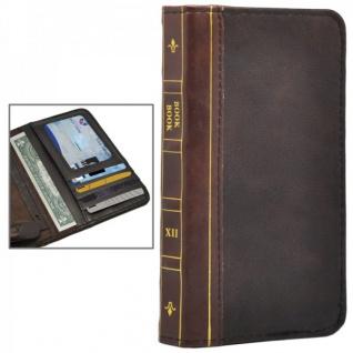 Tasche Book Retro Style für Apple iPhone 6 4.7 Hülle Case Etui Schutz Cover