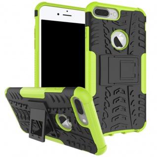 New Hybrid Case 2teilig Outdoor Grün für Apple iPhone 8 und 7 Plus 5.5 Tasche