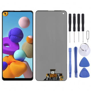 Für Samsung Galaxy A21s A217F Display Full LCD Touch Screen Reparatur Schwarz