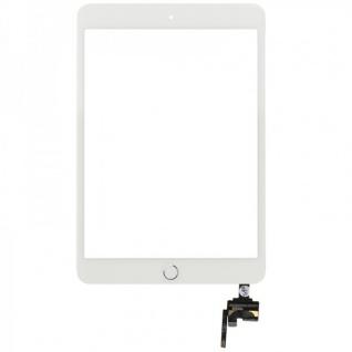 Touch Screen Display Weiß Home Button IC Chip für Apple iPad Mini 3 Klebepad