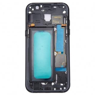 Mittelrahmen Kamera Glas Gehäuse für Samsung Galaxy A5 2017 A520F Schwarz Neu - Vorschau 4