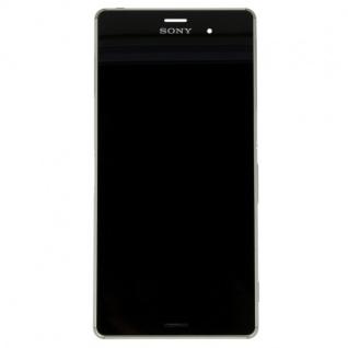Original Sony Display LCD Komplett Einheit mit Rahmen für Xperia Z3 D6603 Ersatz - Vorschau 2
