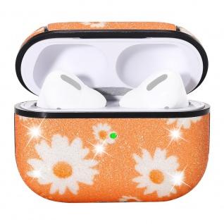 Apple Airpods Pro Cover Ring Orange Schutzhülle Cover Tasche Case Etui Halter - Vorschau 4