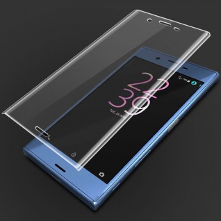 2x Für Sony Xperia XZ3 4D 0, 3 mm H9 Full Curved Display Hart Glas Transparent