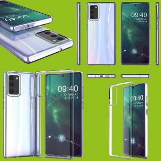 Für Samsung Galaxy Note 20 Plus Silikon TPU Transparent Handy Tasche Hülle Etuis
