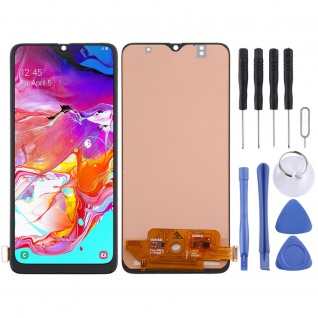 Für Samsung Galaxy A70 A705F Display Full LCD Touch Screen Reparatur Schwarz Neu