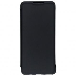 Flip Wallet Cover Schwarz für Huawei P30 Lite 51993079 Case Tasche Etui Schale
