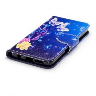 Tasche Wallet Book Muster Motiv 31 für Smartphones Schutz Hülle Case Cover Etui - Vorschau 3