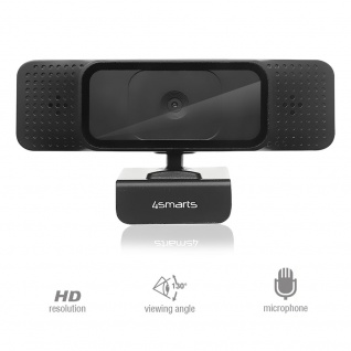 720p Universal Webcam Cam Schwarz Kamera Laptop PC Zubehör mit USB Anschluss