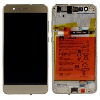 Huawei Display LCD Einheit Rahmen für P10 Lite Full Service Pack 02351FSN Gold