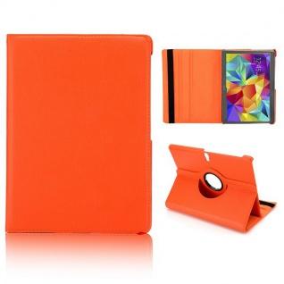 Schutzhülle 360 Grad Orange Tasche für Samsung Galaxy Tab S 10.5 T800 Zubehör Neu