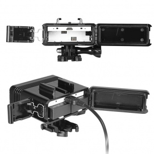 300LM Wasserdichte Lampe für GoPro HERO5 Session /5 /4 Session /4 /3+ /3 /2 /1 - Vorschau 5