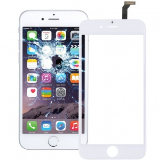 Touchscreen Display Glas für Reparatur Apple iPhone 6 4.7 Flex Kabel Weiß Ersatz