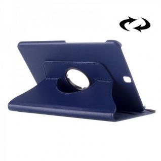 Schutzhülle 360 Grad Blau Tasche für Samsung Galaxy Tab S2 9.7 T810 T815N Hülle