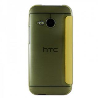 Smartcover Window Gelb für HTC One Mini 2 Tasche Cover Case Hülle Zubehör Neu - Vorschau 2