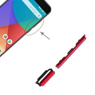 Power Volume Button Rot für Xiaomi Mi 5X / A1 Lautstärke On Off Ersatzteil
