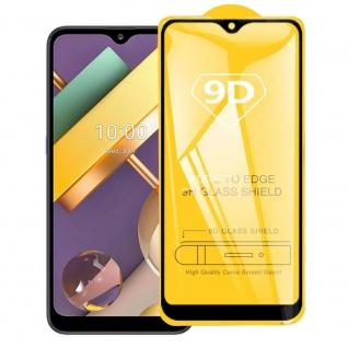 Für LG K22 3D Display Full LCD H9 Hart Glas Schwarz Folie Panzer Schutz Case Neu