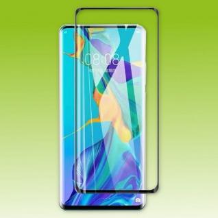 Für Huawei P50 Pro 2x 4D Display Full LCD H9 Curved Hart Glas Folie Panzer Neu