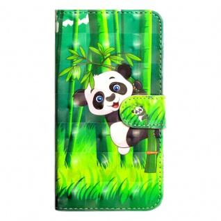 Tasche Wallet Book Muster Motiv 42 für Smartphones Schutz Hülle Case Cover Etui - Vorschau 2