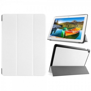 Smartcover Weiß für ASUS ZenPad 10 Z300C CL CG Hülle Case Tasche Etui Schutz Neu
