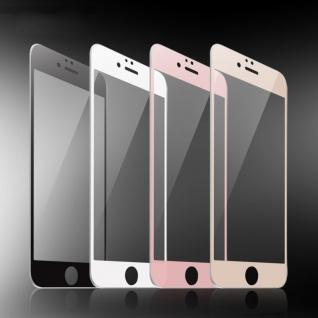 Premium 0, 3 mm gebogenes H9 Panzerglas Weiß Folie für Apple iPhone 7 Plus Schutz - Vorschau 2
