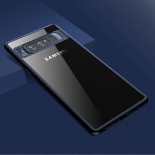 Original ROCK Bumper Case für Samsung Galaxy Note 8 N950F Tasche Hülle Blau Neu