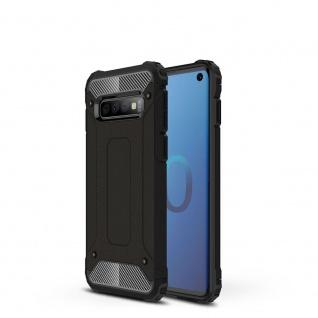 Für Samsung Galaxy S10 Magic Armor Case Outdoor Schwarz Tasche Hülle Schutz