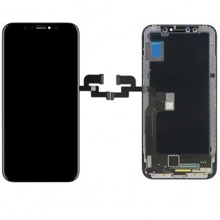 Display LCD OLED für iPhone X / 10 Schwarz Komplett Einheit Touch Ersatzteil